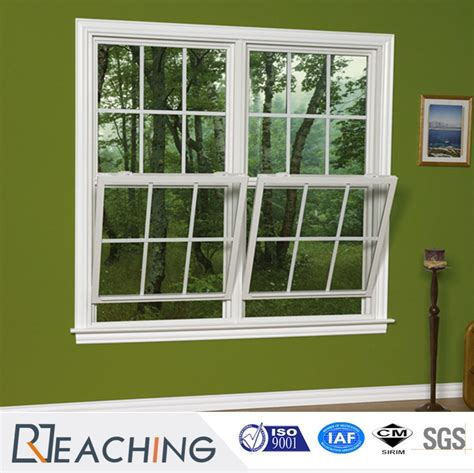 american style upvc double hung window   colors  china manufacturer reaching