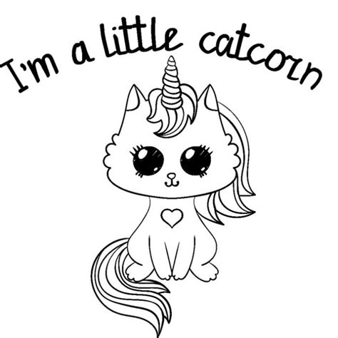 cute cartoon unicorn coloring pages unicorn coloring pages kitty coloring cat coloring page