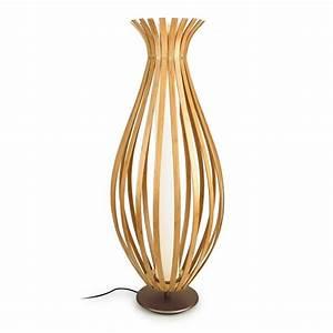 Bamboo led floor lamp imperial lighting for Tiffany bamboo floor lamp