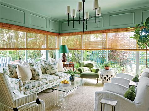 Neutral Green Living Room by Green Is The New Neutral Southern Living