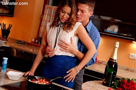 Clothed Female Gets Fucked In The Kitchen During A