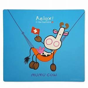 tapis de souris mumu cow relax 9411 bazarouchycom With tapis de souris personnalisé avec canape geneve