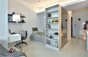 Einrichtung Kleine Wohnung : 1 zimmer wohnung einrichten 13 apartments als inspiration ~ Watch28wear.com Haus und Dekorationen