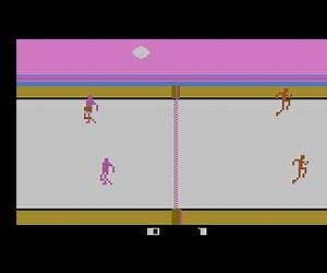 Atari 2600 VCS Double-Game Package - Flippern / Volleyball ...