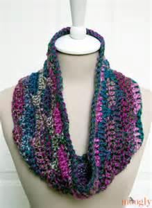 One-Skein Free Crochet Cowl Patterns