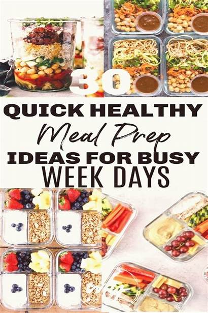 Recipes Healthy Meal Prep Easy Week Quick