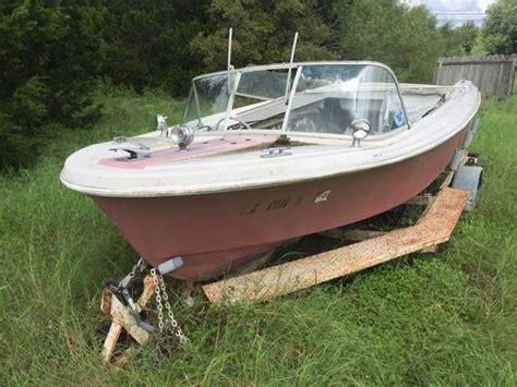 Chrysler Boat Motor by 16 Ft Boat W Chrysler Motor Tx Free Boat