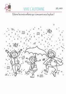 Feuilles D Automne à Imprimer : coloriage vive les feuilles d 39 automne ~ Nature-et-papiers.com Idées de Décoration
