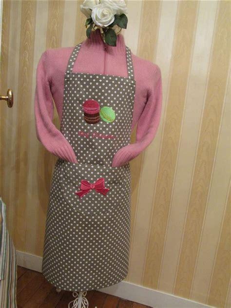 tablier femme cuisine tablier de cuisine brodé fabrication artisanale