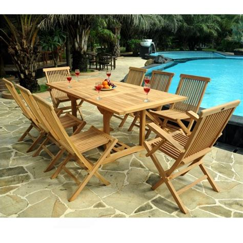 salon de jardin wood collection qaland com