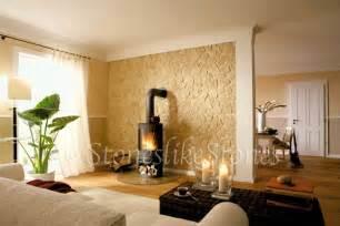 wohnzimmer ideen wandgestaltung stein kunststeinpaneele innovative wandgestaltung tipps ideen auf planungswelten de