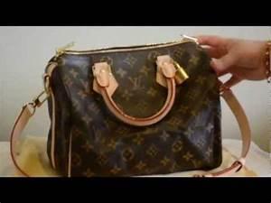Louis Vuitton Speedy Bandouliere 25 (with shoulder strap
