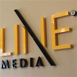 dimensional sign letters for interior and exterior use With acrylic dimensional letters