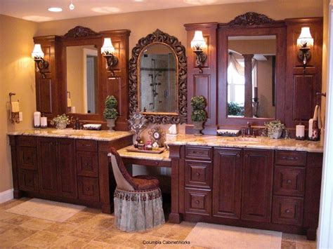 Master Bathroom Vanities Double Sink With Fixture