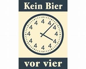 Uhr Kein Bier Vor Vier : postkarte kein bier vor vier 10 5x14 8 cm bei hornbach kaufen ~ Whattoseeinmadrid.com Haus und Dekorationen