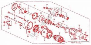 Starter Motor  Diesel  For Honda Cars Accord Tourer 2 2
