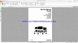 Volvo Fm  Fh Version2 Trucks Wiring Diagrams Service Manual 20046394