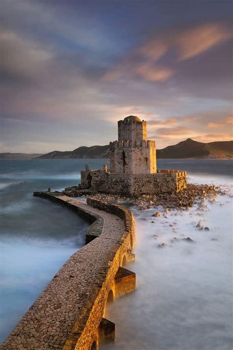 castle  methoni  messenia peloponnese greece