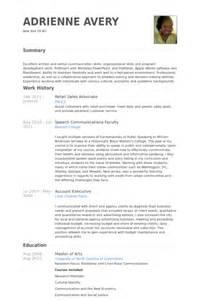 macys sales associate resume description einzelhandel verkaufsfach cv beispiel visualcv