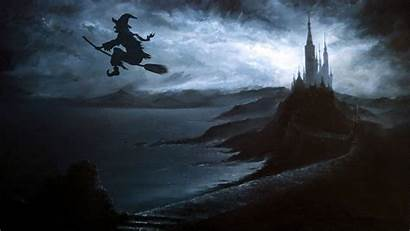 Witch Desktop Halloween Wallpapers Witchy Aesthetic Computer