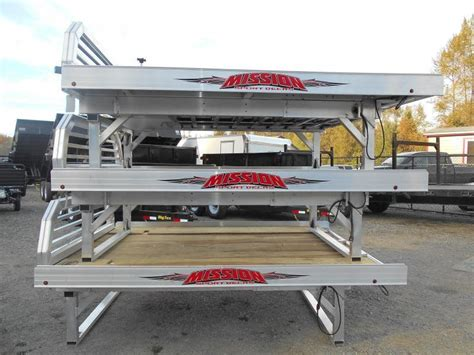 aluminum sled deck weight specials trailers nw trailers utility cargo and