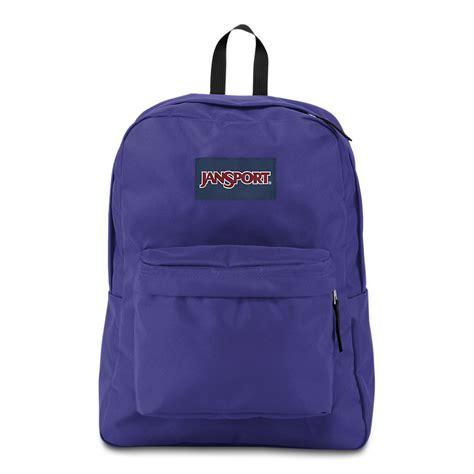high hat light jansport superbreak backpack violet purple