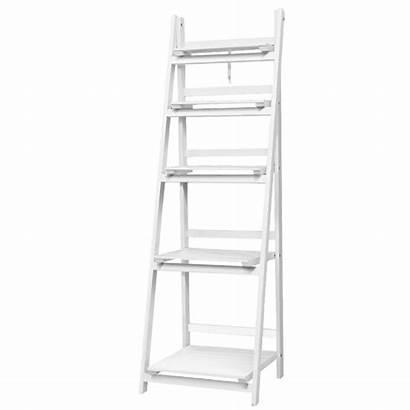 Shelf Ladder Tier Stand Rack Display Shelves