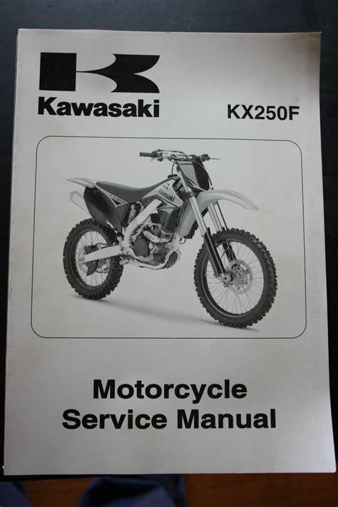 Kawasaki Motorcycle Service by Genuine Kawasaki Motorcycle Service Workshop Manual 2009