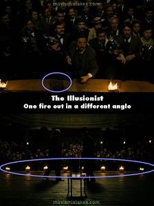 The Illusionist movie mistake picture 1