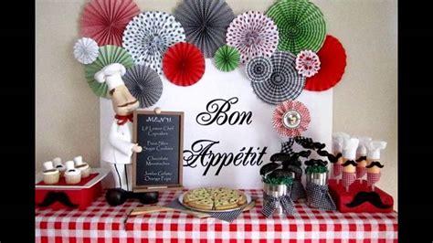 italian themed decorating ideas   party youtube