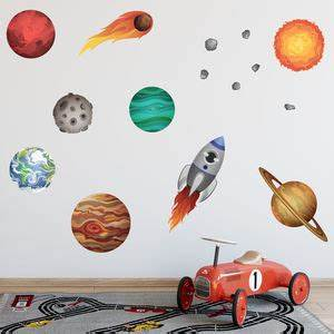 wall decal nice wall decals solar system wall decals With nice wall decals solar system