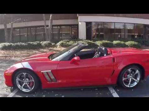 corvette grand sport lt convertible custom youtube