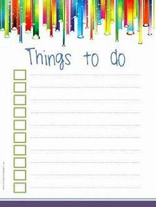Template To Do List To Do List Template
