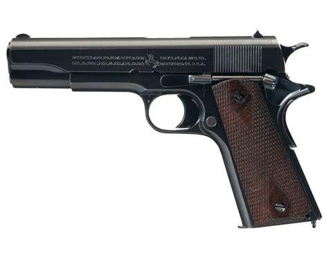 Excellent St Louis Shipped Colt Government Model Semi
