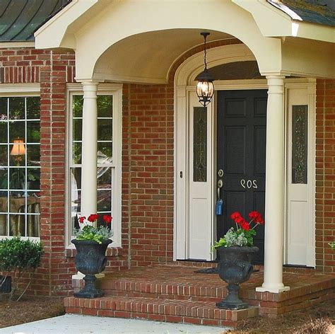 impressive  front porch design  decorating ideas  minimalist home