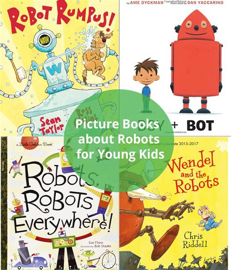 picture books  robots  young kids tech age kids