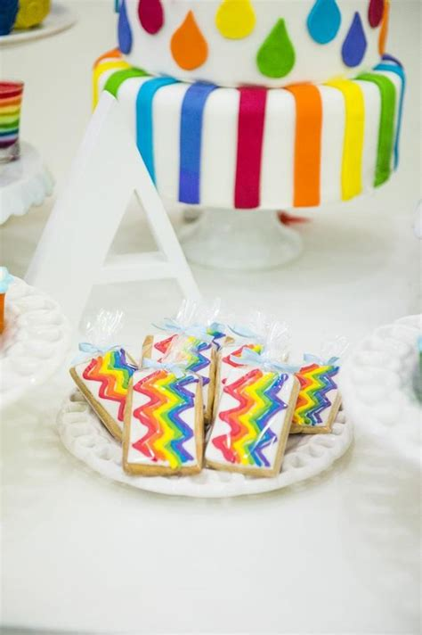 kara 39 s party ideas rainbow themed birthday party kara 39 s party ideas rainbow birthday party planning ideas