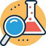 Icon Experiment Procedure Science Research Analysis Icons