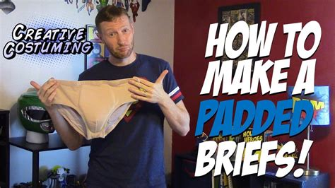 How To Make Padded Underwear  By Creative Costuming Youtube