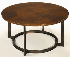 Table round glass coffee table with wood base cabin for Large round glass top coffee table
