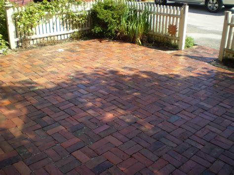 brick patio maine stonework masonry hardscaping perennial stone reclaimed brick patio yarmouth maine