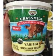 After the 30 day period, select 1 pure form of dairy such as whole milk and drink it for 2 consecutive meals. Organic Valley Grassmilk, 100% Grass-Fed, Vanilla, Whole ...