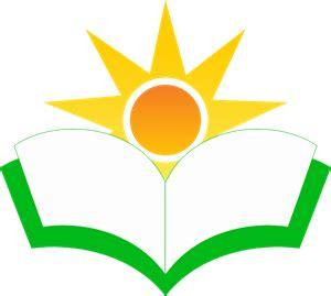 book sun education logo vector ai