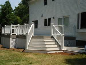AZEK Deck Railing Stairs