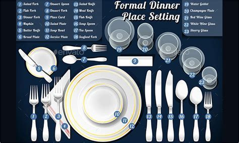 5  Place Setting Templates   Free Sample, Example, Format