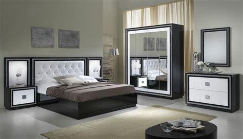 langres chambres d h es lit adulte design laqu 233 blanc et noir appoline lit