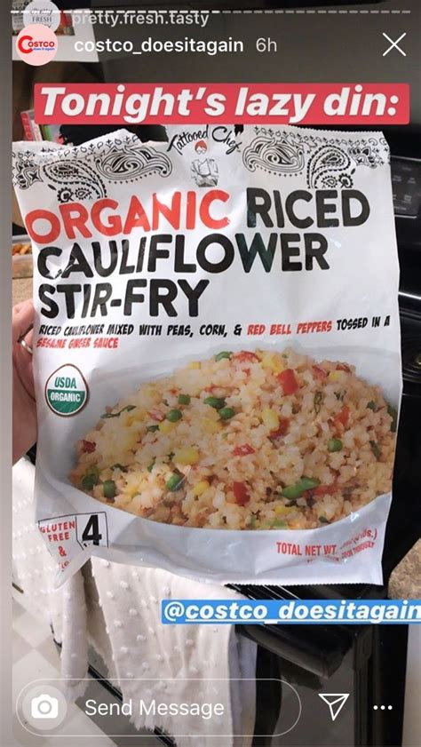 We get asked a lot if this cauliflower fried rice can be made with frozen cauliflower rice. Pin by Jenn Looney on Costco | Stuffed peppers, Organic ...