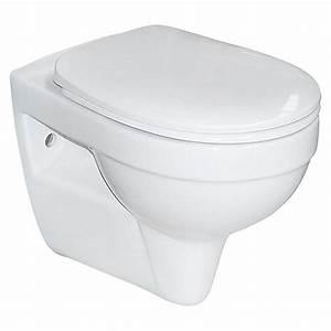 Wc Sitz Erhöht : camargue wand wc plus 50 mit wc sitz tiefsp ler 5 cm erh ht bauhaus ~ Watch28wear.com Haus und Dekorationen