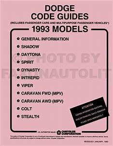 1993 Colt And Summit Repair Shop Manual Original 2 Volume Set