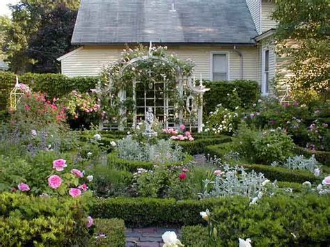 Formal Rose Garden After  Best Yard Before And Afters